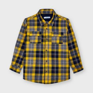 Overshirt quadri