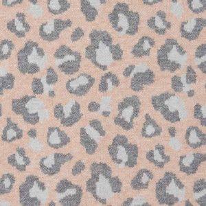 Vestito tricot leopardato