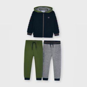 Tuta 2 pantalone + felpa